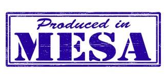 生产在Mesa 皇族释放例证