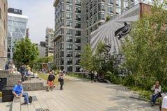 生产线上限公园在纽约美国 库存照片