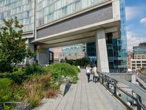 生产线上限公园,曼哈顿,纽约 免版税库存照片