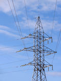 生产线上限电压 免版税库存图片