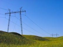 生产线上限电压 库存照片