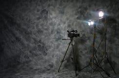 生产设置录影 库存图片