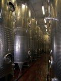 生产酒 免版税库存图片
