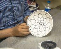生产陶瓷 库存图片