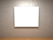 生动描述空间白色 库存图片