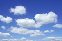 生动的天空 库存图片