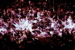 生动的水飞溅被隔绝的duotone 库存照片