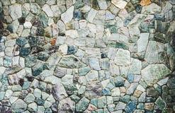生动的石墙背景 免版税库存照片