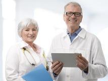 医生和护士 免版税图库摄影