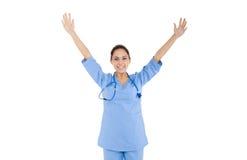 妇女护士医生, 库存图片