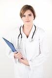 年轻医生妇女 免版税库存照片