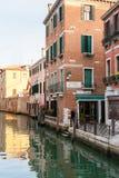 生存区圣马球的人们在威尼斯市 库存图片