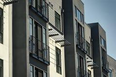 生存单位或舱内甲板细节在住宅公寓 库存照片
