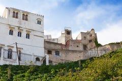 生存房子在麦地那,唐基尔,摩洛哥 库存照片
