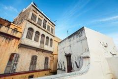 生存房子在麦地那 更加气味强烈的摩洛哥 免版税库存图片