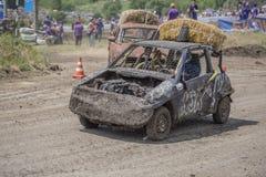 生存的赛车在Bizon轨道展示 库存照片