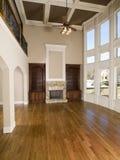 生存豪华空间垂直的墙壁视窗 免版税库存照片
