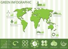 生态信息图象收集 免版税库存照片