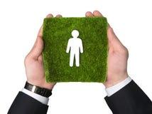 生态和人们 免版税库存图片