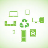 生态和电子 库存照片