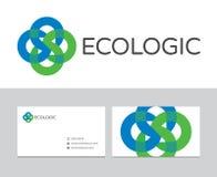 生态商标 免版税库存照片