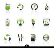 生态图标系列 免版税图库摄影