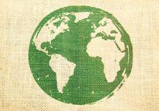 生态学概念的地球 免版税图库摄影