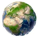 生态学浩劫的地球 库存图片