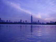 生态学的城市 免版税库存照片