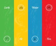 生态学的背景 免版税图库摄影
