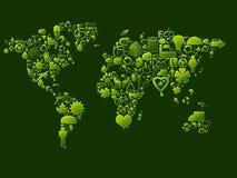 生态学符号 免版税图库摄影