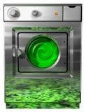 生态学洗衣机 库存照片