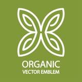 生态庭院商标设计 免版税库存图片