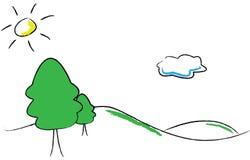 生态徽标 库存照片