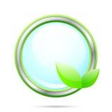 生态标签向量 库存例证