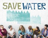 生态节水持续力自然概念 库存照片