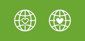 生态行星 免版税库存图片