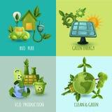 生态设计观念集合 库存图片