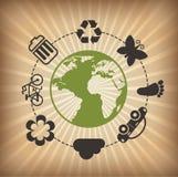 生态设计 库存例证