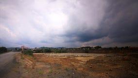 生态Catastropha中间乌拉尔俄罗斯Karabash区域  库存照片