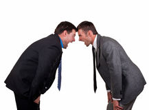 生意人二个年轻人 免版税库存照片