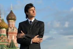 生意人俄语 库存图片