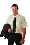 生意人偶然穿戴的纵向 库存图片