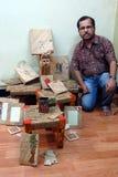 生意人印地安人 免版税图库摄影