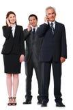 生意人和女实业家 库存照片