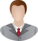 生意人图标 免版税库存图片