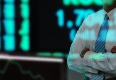 生意人替换股票 免版税库存照片