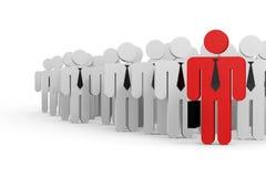 生意人概念领导 库存照片