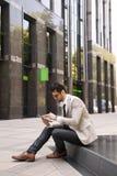 生意人现代年轻人 免版税库存照片