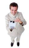 生意人白种人索引搜索 库存图片